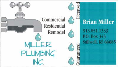miller plumbing ad after